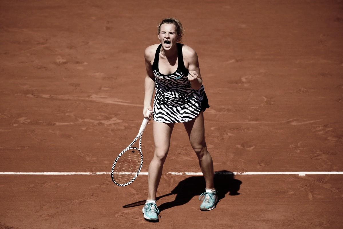 Siniakova faz partida brilhante para despachar Osaka e avançar à segunda semana de Roland Garros