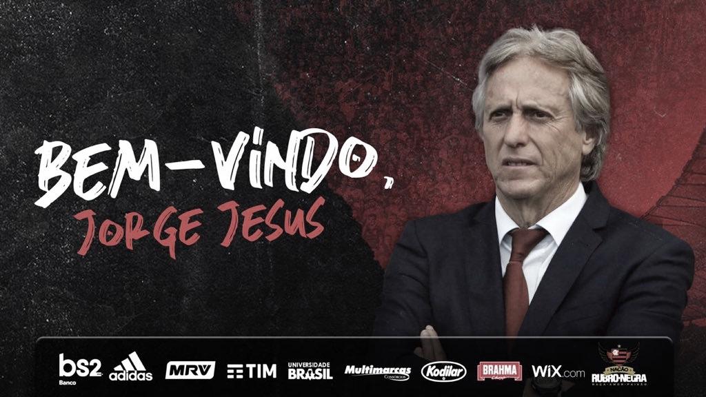 Após reunião em Madri, Jorge Jesus é o novo técnico do Flamengo