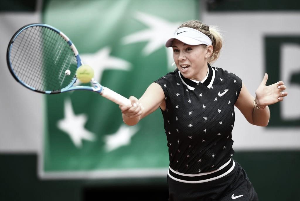 Anisimova repete Australian Open e elimina Sabalenka em Roland Garros