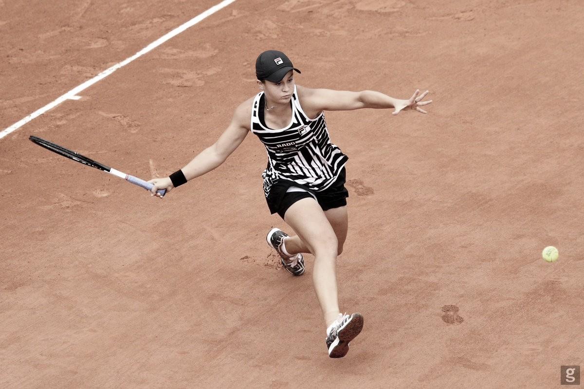 Barty vence Petkovic com facilidade e avança às oitavas de Roland Garros