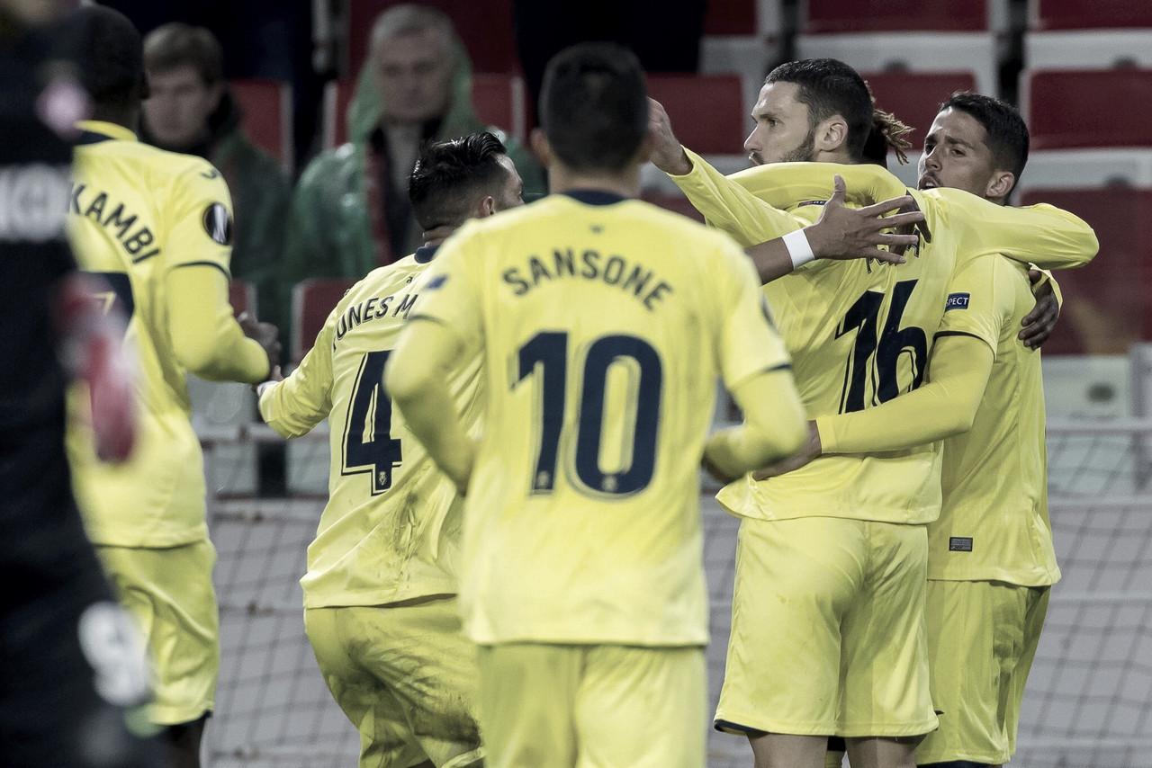 Villarreal sai na frente, mas cede empate para o Spartak Moscou pela Europa League