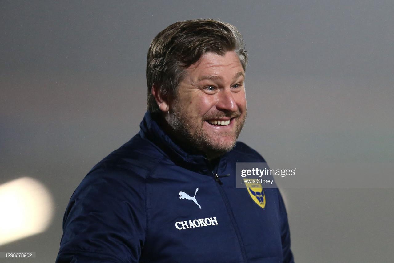 Oxford United 4-0 Burton Albion: Oxford smash Burton to snatch last play-off spot from Pompey