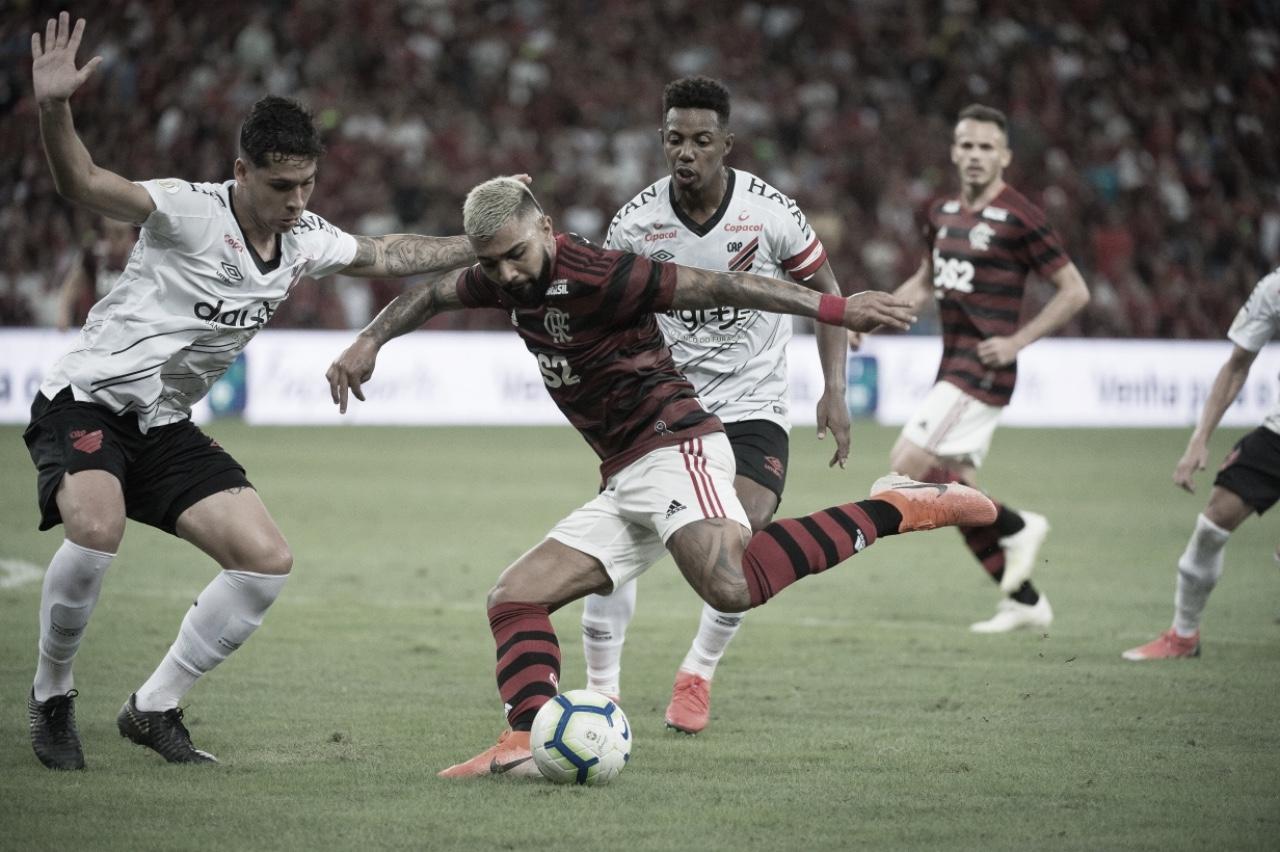 Resultado Athletico-PR x Flamengo (1x1)