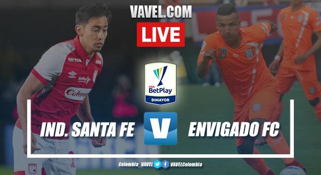 Independiente Santa Fe vs Envigado EN VIVO ver transmisión en directo online por la Liga BetPlay