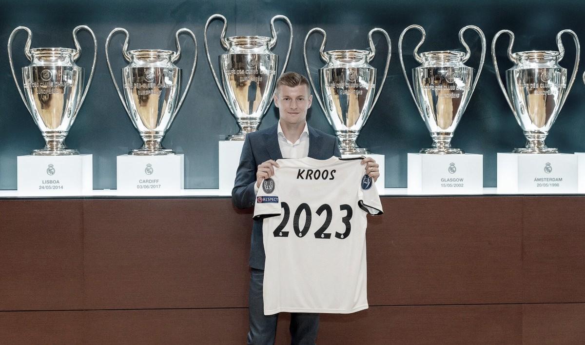 Real Madrid oficializa renovação comToni Kroos por quatro temporadas