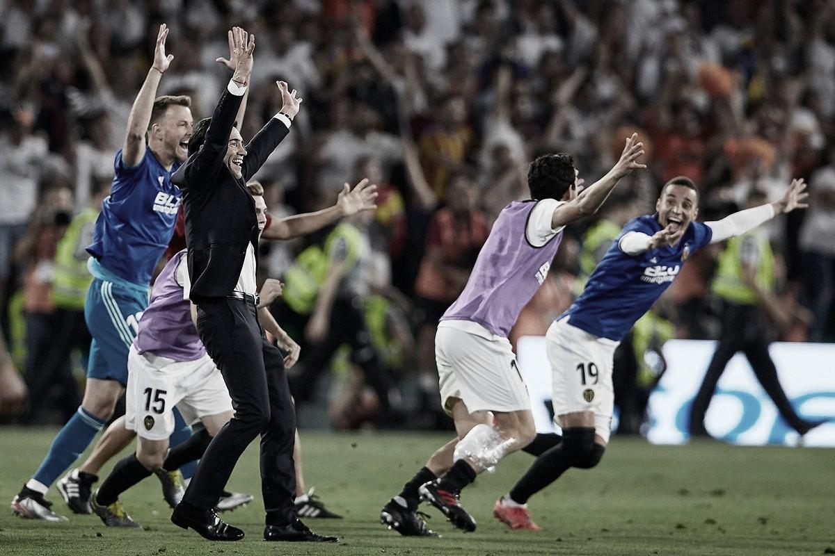 Deu zebra! Valencia derrota Barcelona e consquita oitavo título da Copa do Rei