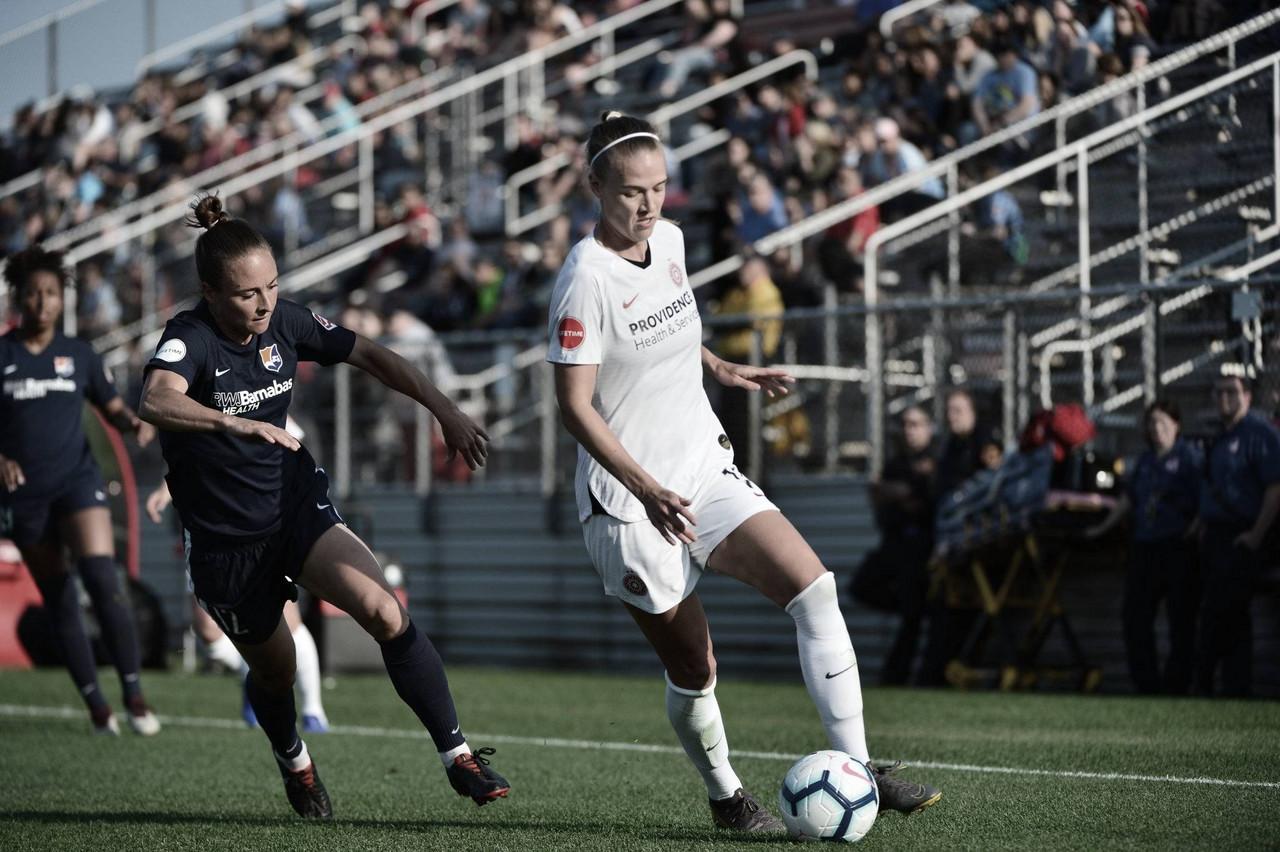 Portland Thorns FC slips past Sky Blue FC in 1-0 win
