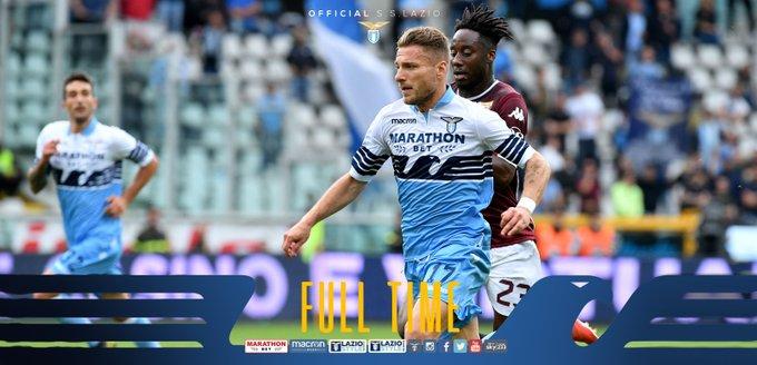 Serie A - Il Torino festeggia al meglio Moretti: Lazio battuta 3-1