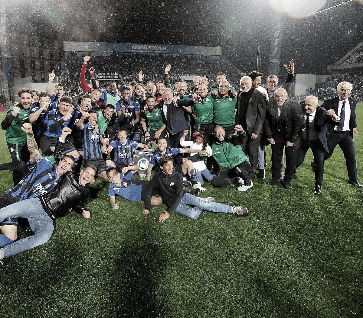 Histórico! Atalanta vence Sassuolo e garante vaga para sua primeira Champions
