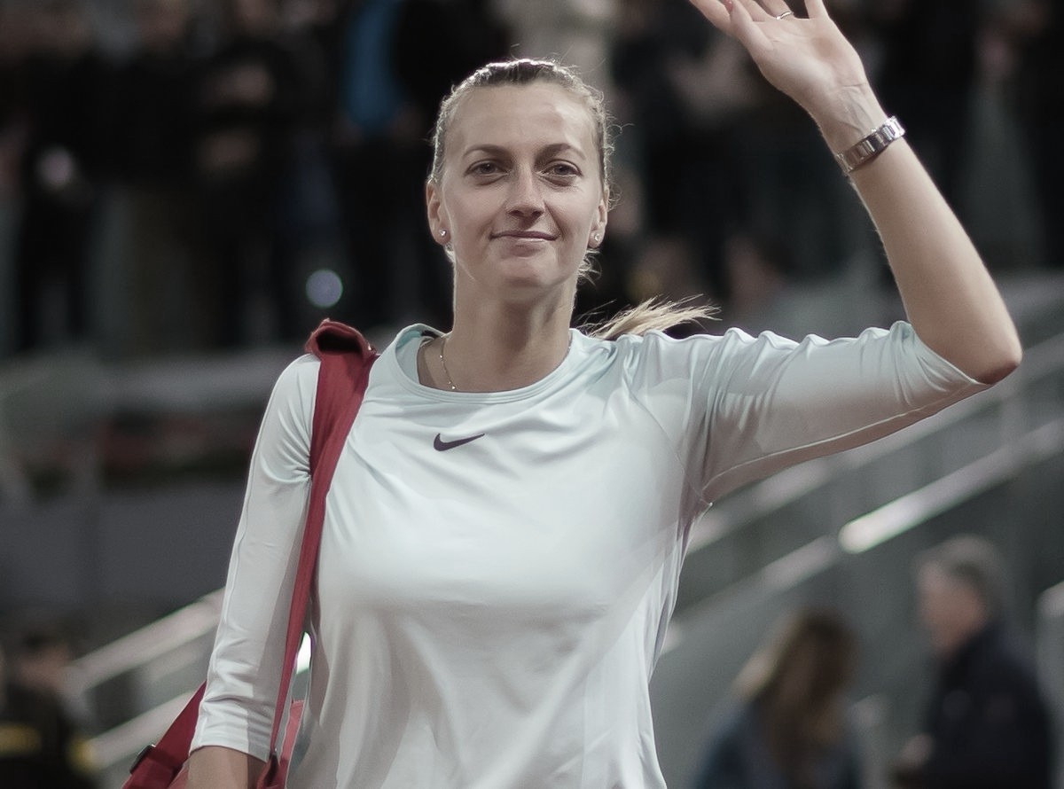 Surpresa do dia: Kvitova desiste de Roland Garros por lesão no antebraço
