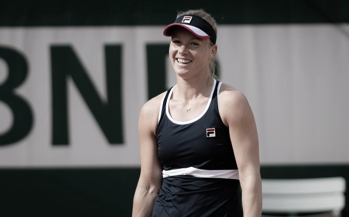 Bertens bate Parmentier e convence na estreia em Roland Garros