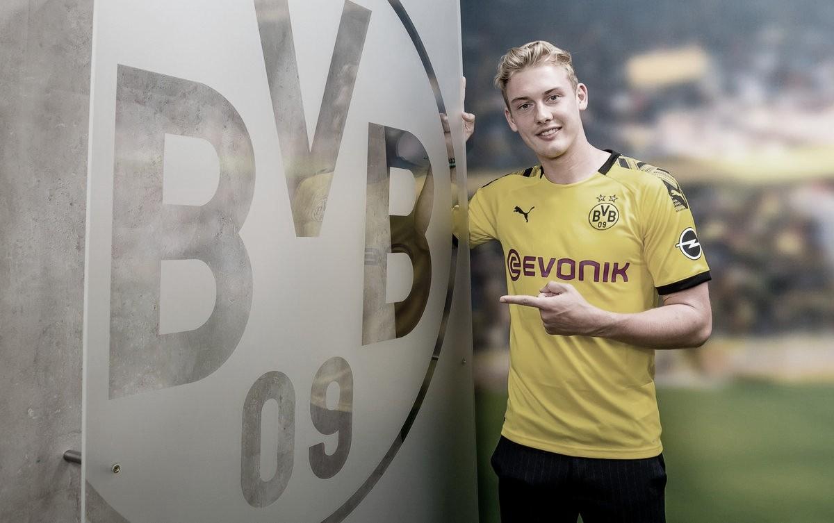 Terceiro reforço do Dortmund até 2024, Julian Brandt se diz 'motivado e otimista'