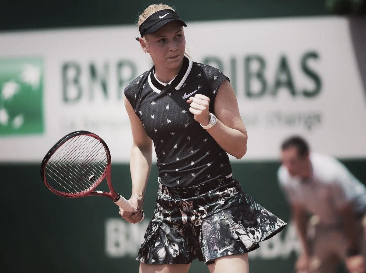 Vekic joga bem, elimina Bencic e avança à segunda semana de Roland Garros