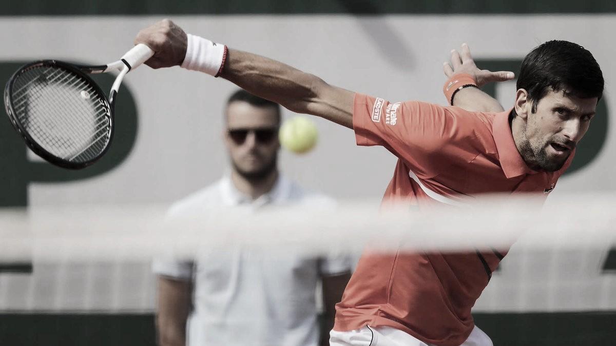 Novak supera la primera prueba para el Four Slam