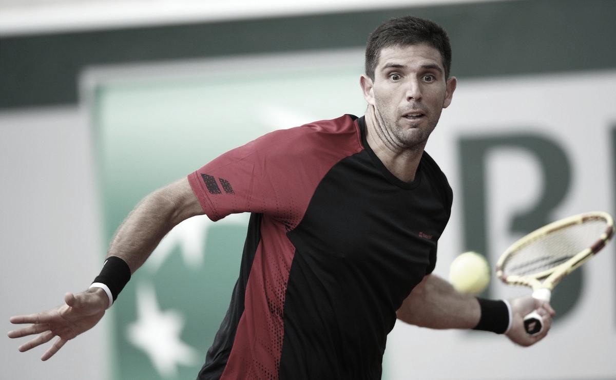 Delbonis puso primera en Roland Garros
