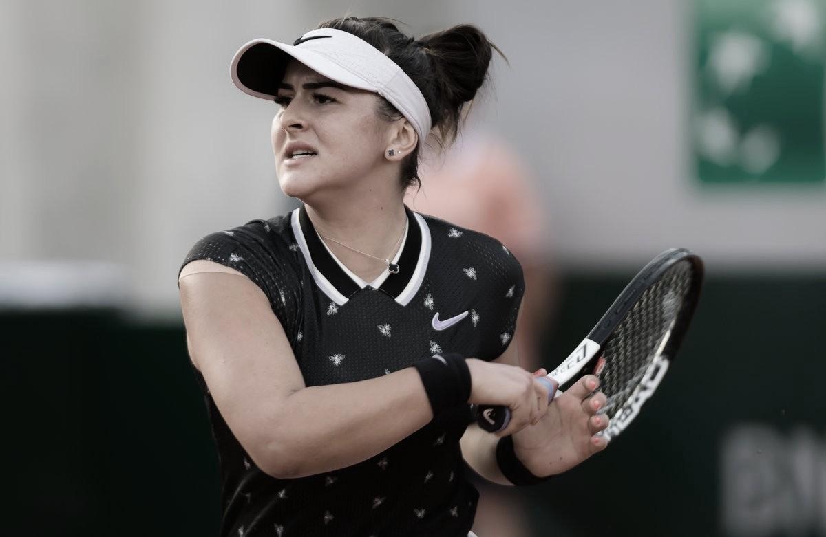 Andreescu supera Bouzkova e conquista primeira vitória da carreira em Roland Garros