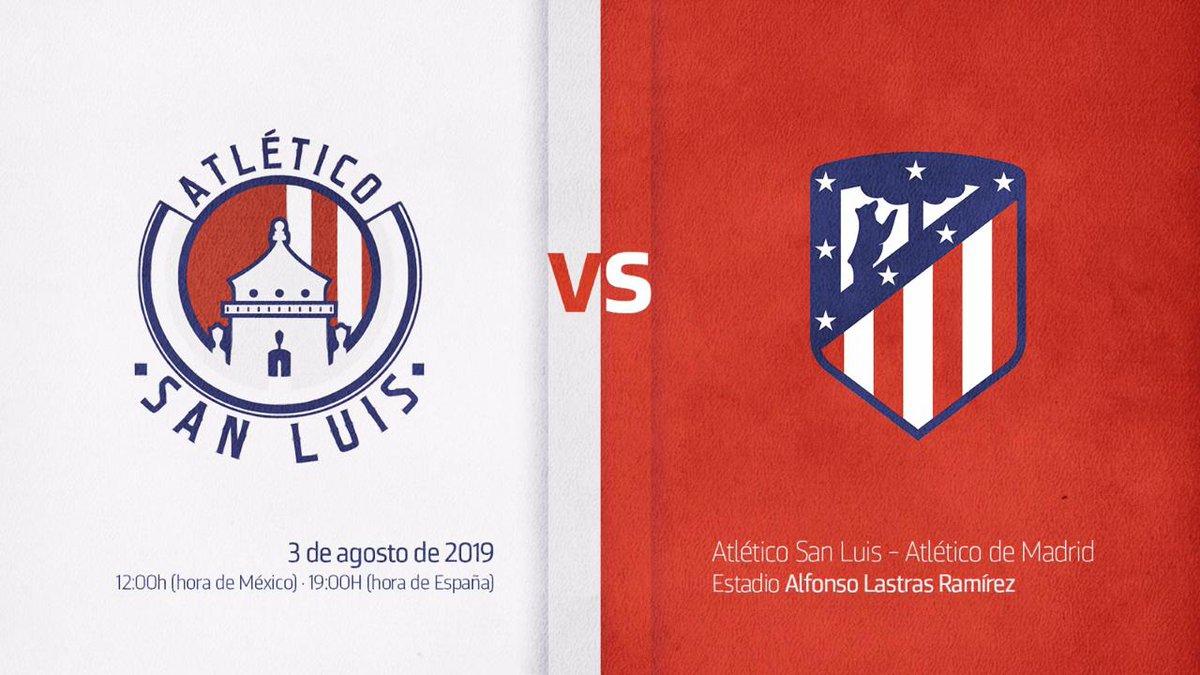 Confirman anhelado amistoso Atleti de Madrid vs Atlético de San Luis