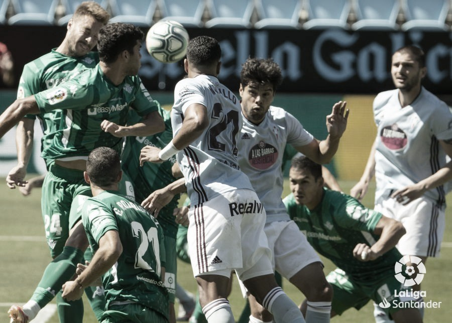 Celta de Vigo 1-1 Real Betis: empate y alivio para los de Heliópolis