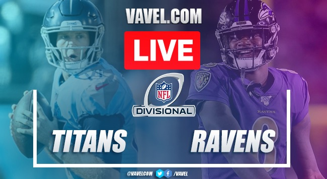 Highlights and Touchdowns: Tennessee Titans 28 - 12 Baltimore Ravens, 2020 NFL Playoffs