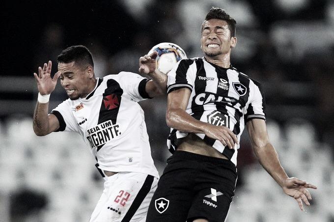 Botafogo e Vasco empatam no Nilton Santos em clássico equilibrado pela Taça Rio