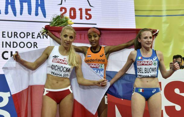 Atletica, Europei Indoor Praga 2015: Del Buono bronzo nei 1500, Chesani argento nell'alto