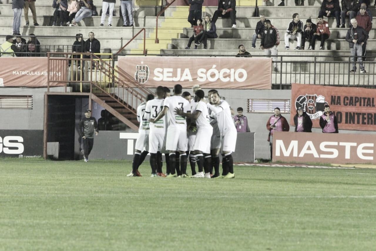 Técnico interino destaca espírito de reação do Figueirense em empate contra o Brasil de Pelotas