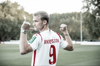 Colônia oficializa compra do atacante Sebastian Andersson, ex-Union Berlin