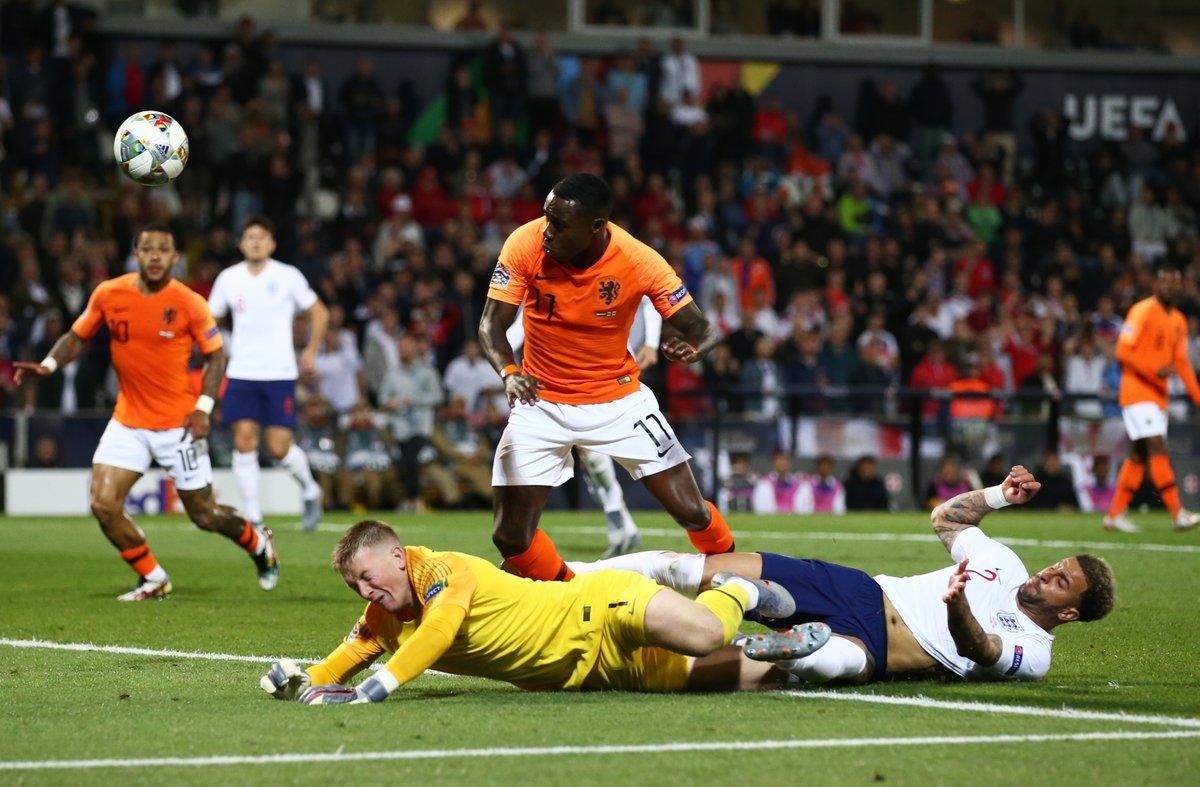 Nations League - L'Olanda raggiunge il Portogallo: battuta l'Inghilterra 3-1