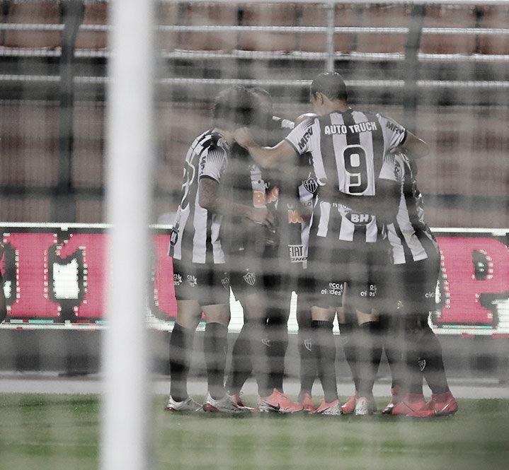 Atlético-MG vence Santos no jogo de volta e está nas quartas da Copa do Brasil