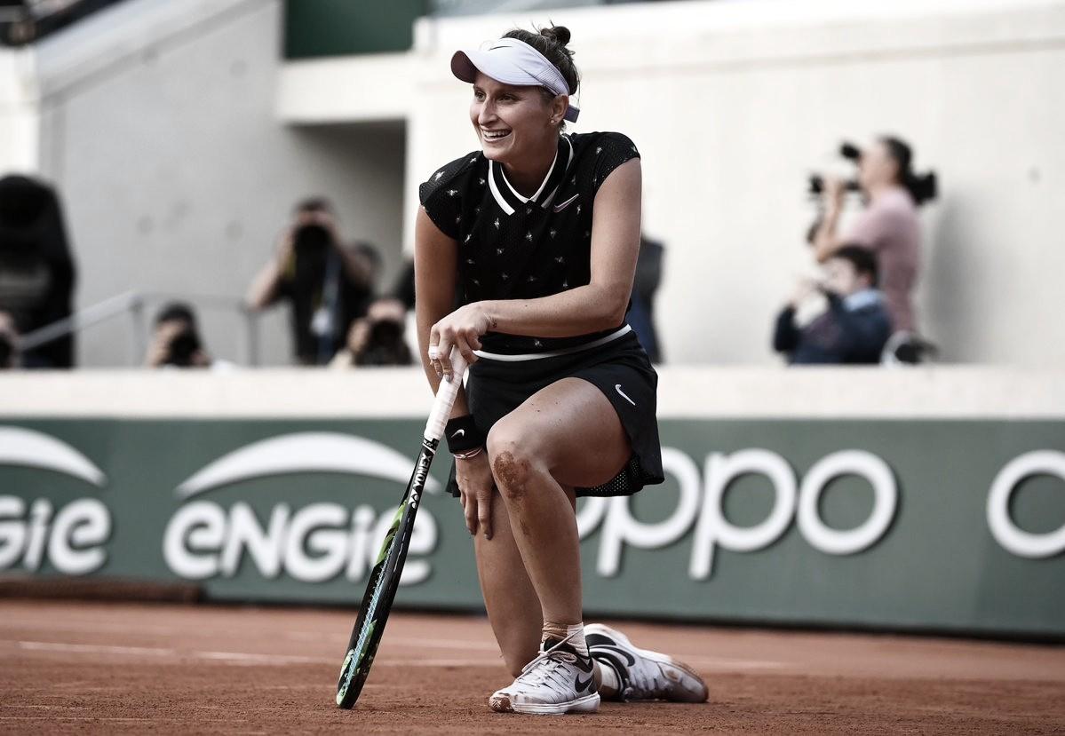 Vondrousova passa por Konta e fará final mais importante da carreira em Roland Garros