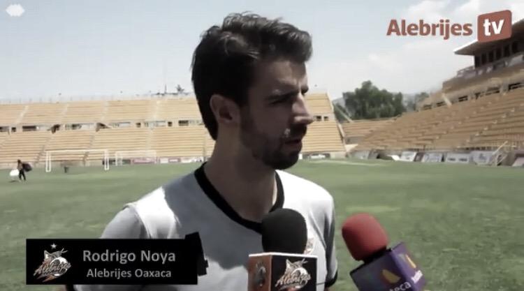 """Rodrigo Noya: """"Tenemos todavía una bala y hay que saber utilizarla"""""""