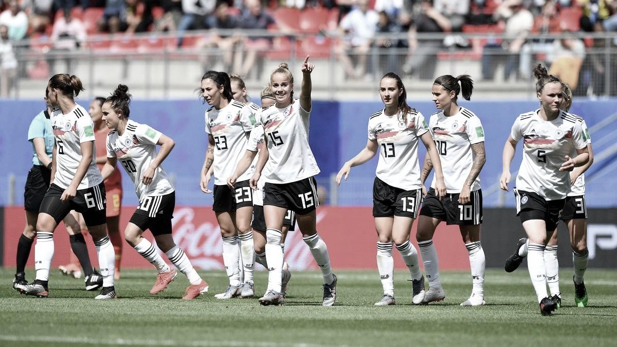 Alemanha estreia com vitória contra China na Copa do Mundo Feminina