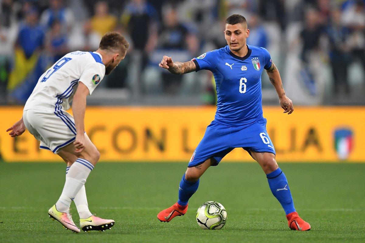 Verso Euro 2020 - Insigne e Verratti ribaltano la Bosnia: vince l'Italia 2-1