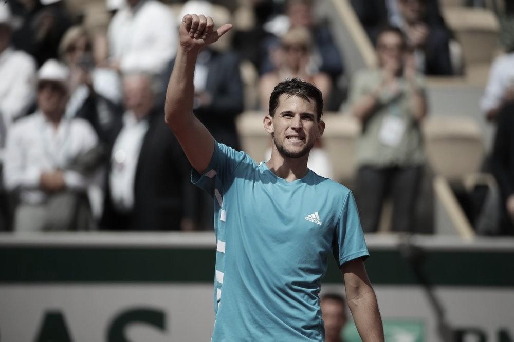 Thiem supera Khachanov e alcança semifinais de Roland Garros pelo quarto ano seguido