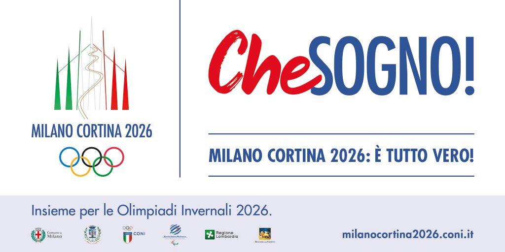 Le Olimpiadi Invernali 2026 vanno a Milano-Cortina