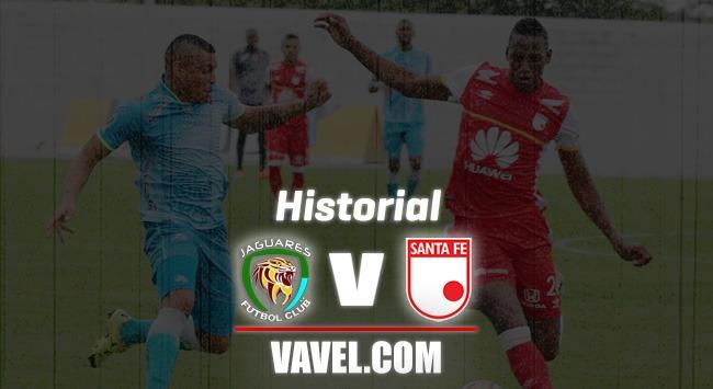 Historial Jaguares vs. Santa Fe: el empate el común denominador de este encuentro