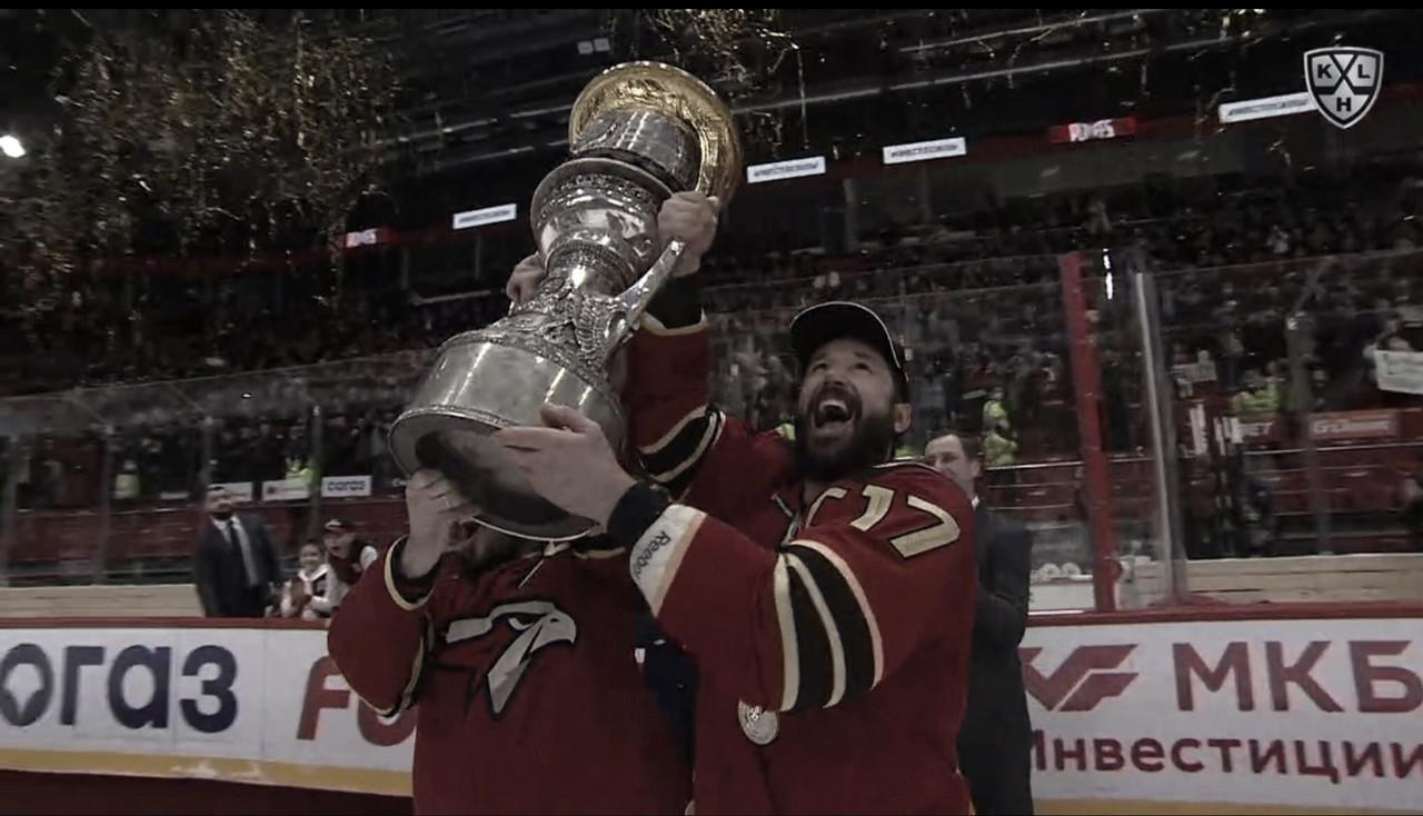 Avangard Omsk, campeón de la KHL