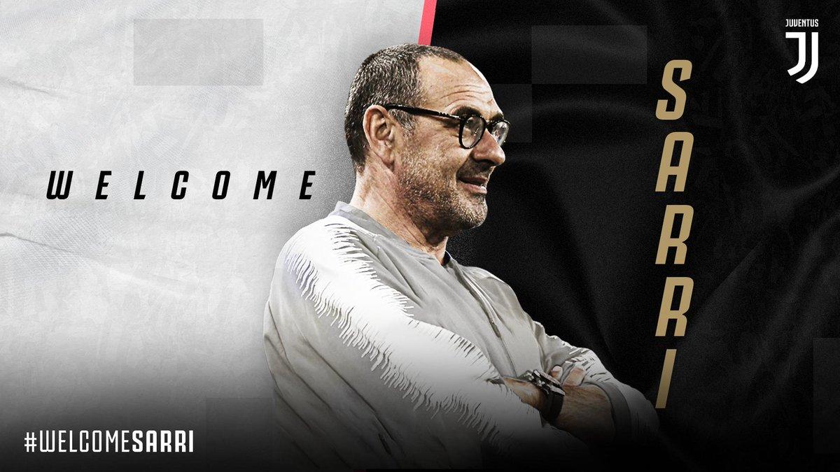 Juventus- Ufficiale Maurizio Sarri è il nuovo allenatore