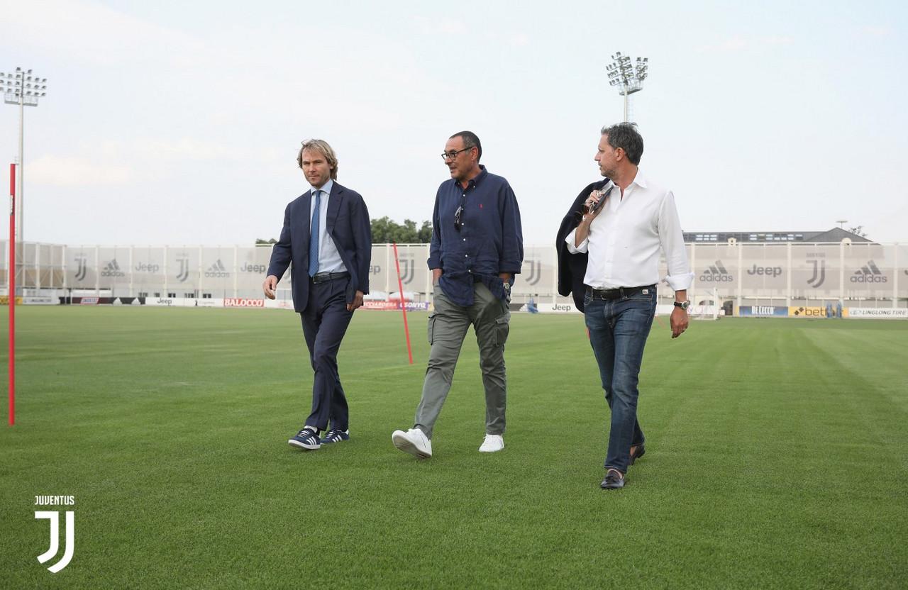 Juventus: Maurizio Sarri si presenta ufficialmente ai suoi nuovi tifosi