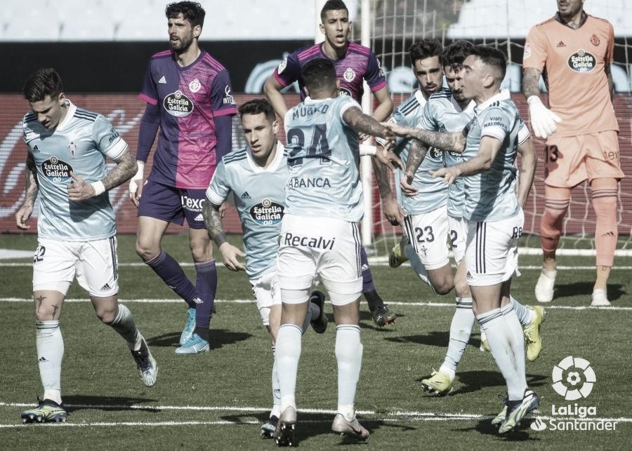 Celta de Vigo vs Real Valladolid: puntuaciones del Celta en la jornada 25 de LaLiga Santander