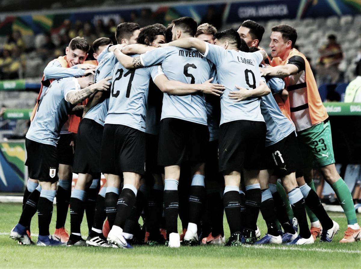 Uruguai dá show e goleia Equador na abertura do Grupo C da Copa América