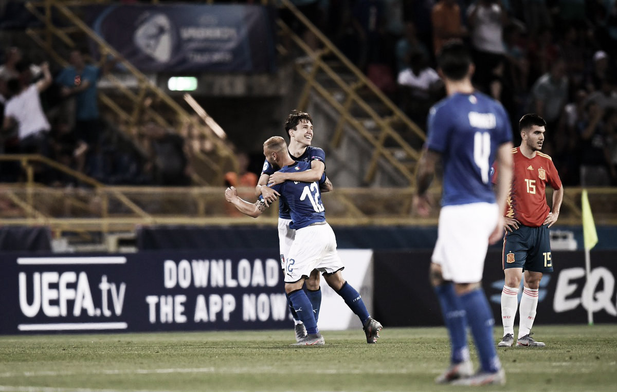 Federico Chiesa y el VAR amargan el debut de España (3-1)