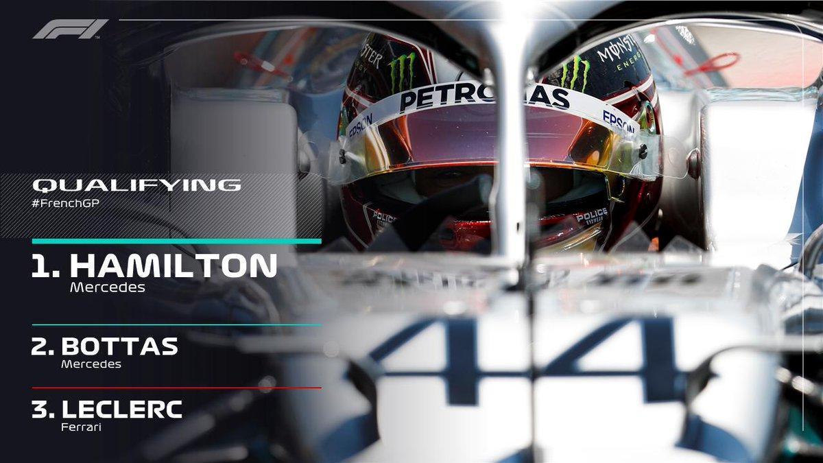Formula 1 - Gran Premio di Francia: pole position per Hamilton