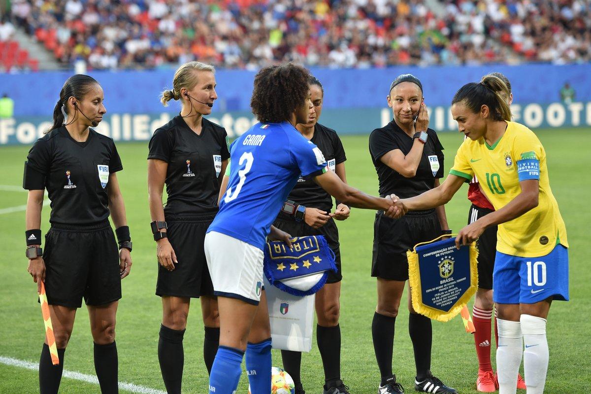 FIFA World Cup Femminile- Azzurre sconfitte dal Brasile, ma comunque sono prime nel girone