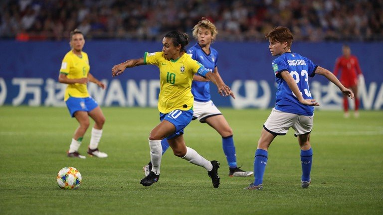 Women's World Cup: Italy 0-1 Brazil