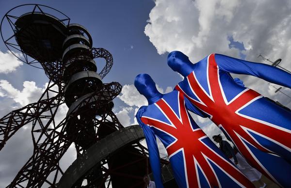 La Union Jack, olímpicamente de moda