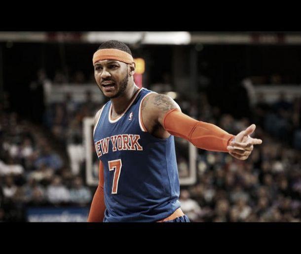 Carmelo Anthony silencia a los Kings