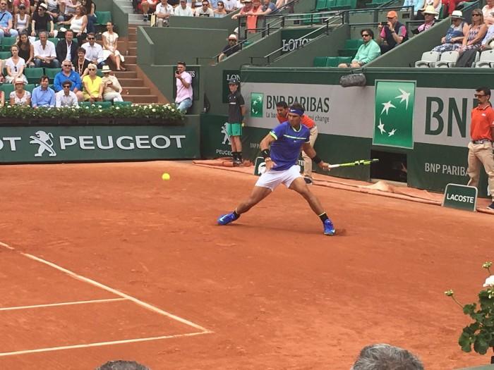 Roland Garros 2017 - Nadal supera senza difficoltà Paire