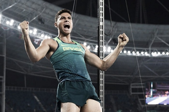 Rio 2016: Da Silva excites home crowd with Pole Vault gold, while Rudisha and Miller claim track titles on thrilling night of Athletics