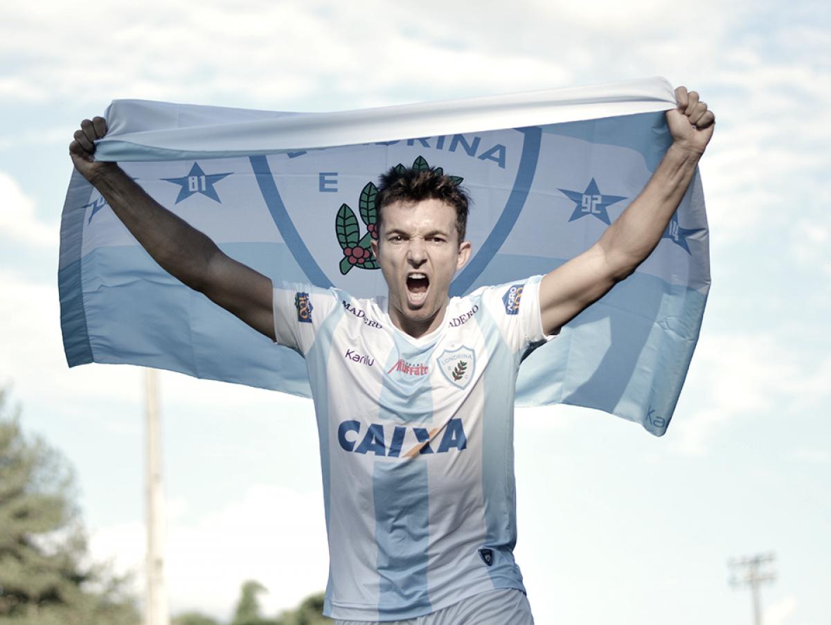 Em busca do acesso, Londrina anuncia contratação do atacante Dagoberto